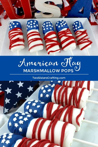 American Flag Marshmallow Pops son golosinas únicas y deliciosas del 4 de julio. Tan fácil de hacer y no vas a creer lo delicioso que es este postre Rojo Blanco y Azul para comer. Serían un divertido postre del 4 de julio para la fiesta del 4 de julio. Pin este gran postre del 4 de julio para más tarde y síganos para más ideas divertidas sobre la comida del 4 de julio. # 4thofJuly #fourthofjuly # 4thofJulyTreat # 4thofJulyFlag #americanflag