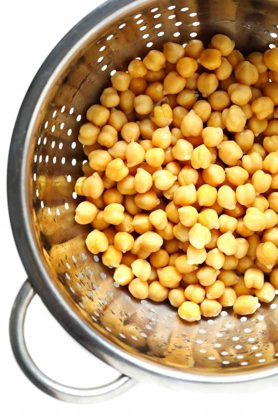 Grão de bico para Hummus