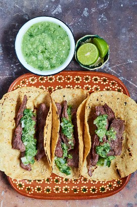 Bistec De Falda Tacos De Arrachera