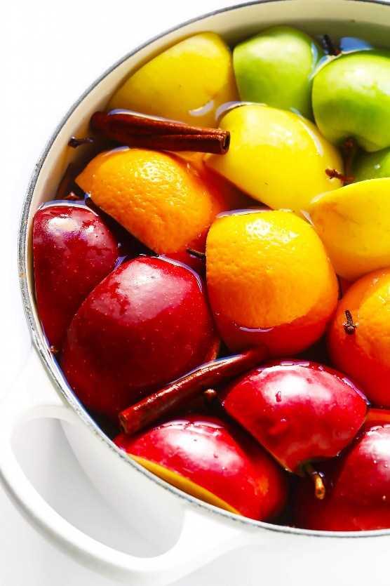 Receta de sidra de manzana