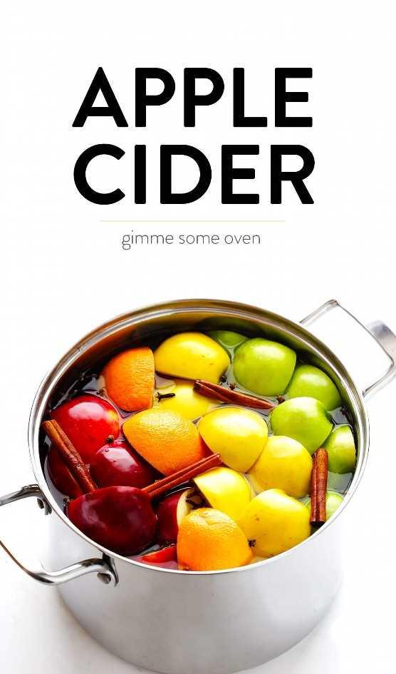 Fácil receta casera de sidra de manzana | Estufa, olla instantánea o olla de barro