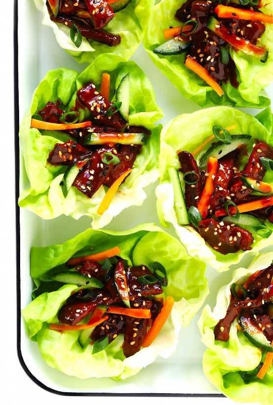 Lechuga De Carne De Res Coreana