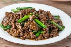 Fácil carne de Mongolia