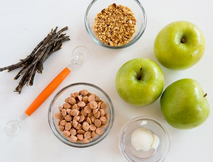 ¡Descubre lo fáciles que son estas mini manzanas de temporada!