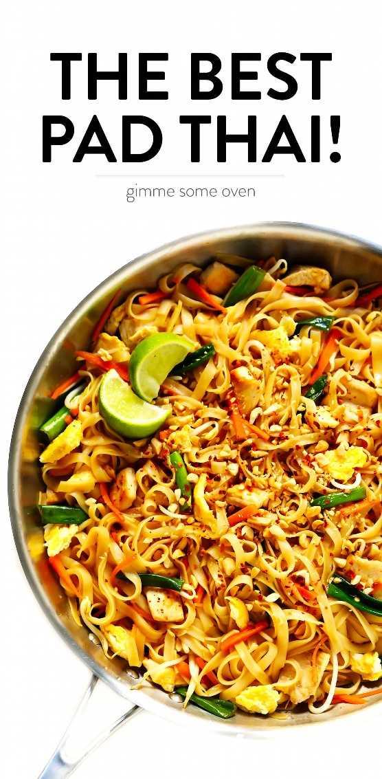La mejor receta tailandesa de pad