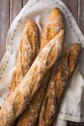 Auténtica receta francesa de Baguette