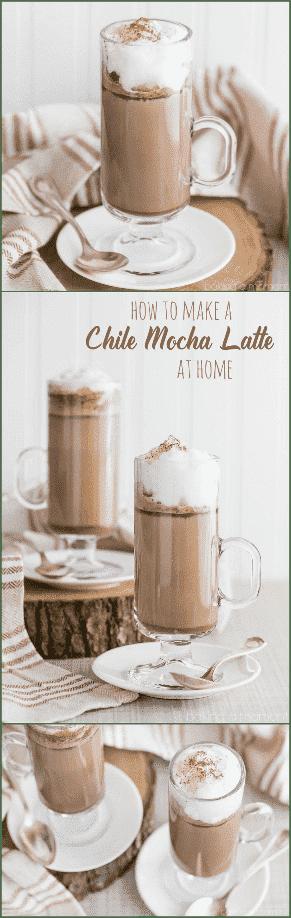 Cómo hacer un Chile Mocha Latte en casa: ¡sabe exactamente igual que la versión de Starbuck!