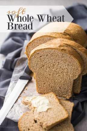 Receta de pan de trigo integral suave y fácil