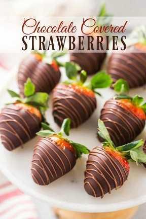 Cómo decorar fresas cubiertas de chocolate