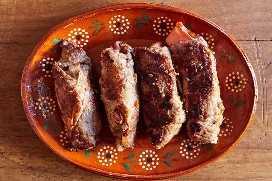 Rollitos De Carne Mexicana