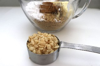 Mezcla de mantequilla de cacahuete Trufas crujientes de mantequilla de cacahuete de Halloween