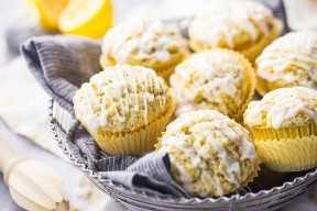 Cómo hacer magdalenas caseras de semilla de amapola de limón