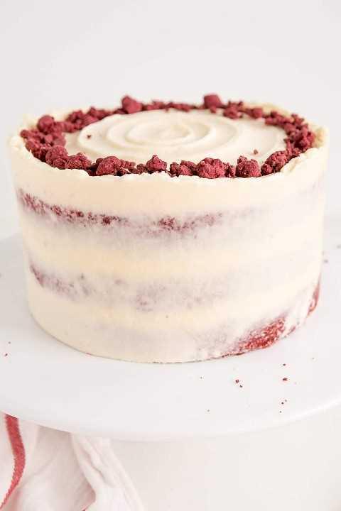 Receta clásica de pastel de terciopelo rojo