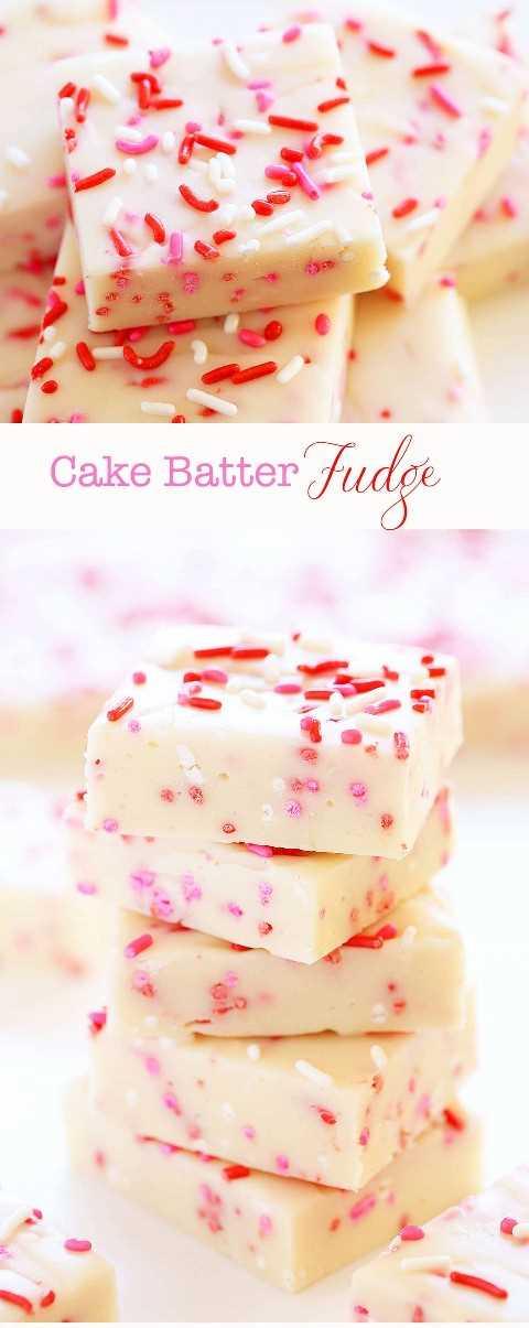 Delicioso Día de San Valentín inspirado 3 ingredientes Fudge!