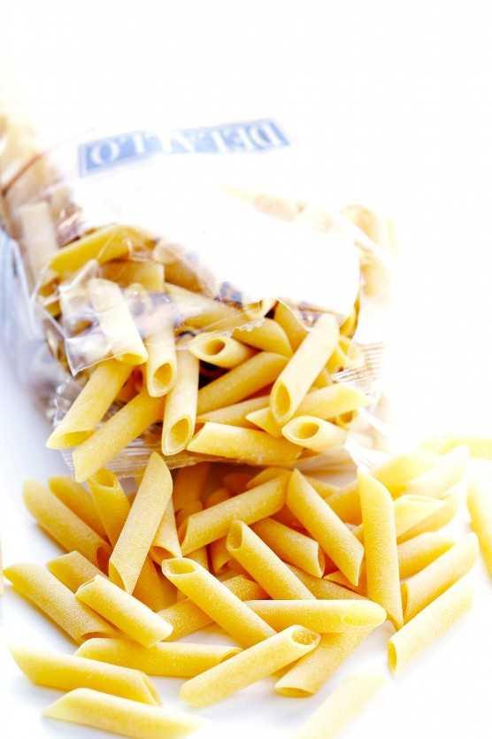 DeLallo Penne Pasta | Pollo Alfredo Al Horno Ziti