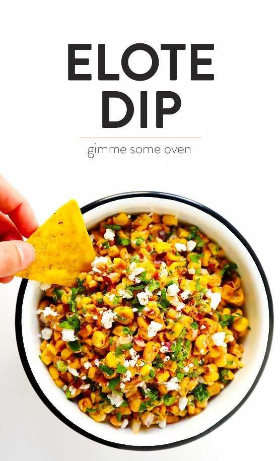 La MEJOR Receta Mexicana de Elote Dip