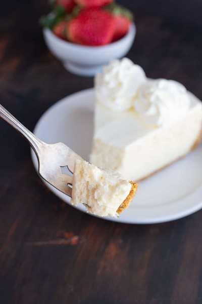 Receta de pastel de queso perfecto