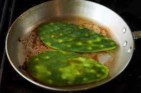 Cacerolas para Freír Cactus (Nopal)