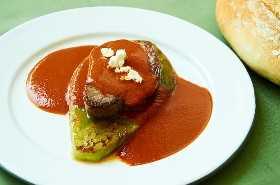 Solomillo De Res Con Tres Salsas De Chile En Cactus Pad