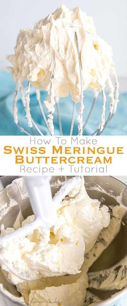 ¡Este tutorial sobre cómo hacer crema de mantequilla de merengue suizo es el único recurso que necesitarás para hacer el grosting más suave y suave! Incluye fotos paso a paso, una guía de solución de problemas y preguntas frecuentes.   livforcake.com