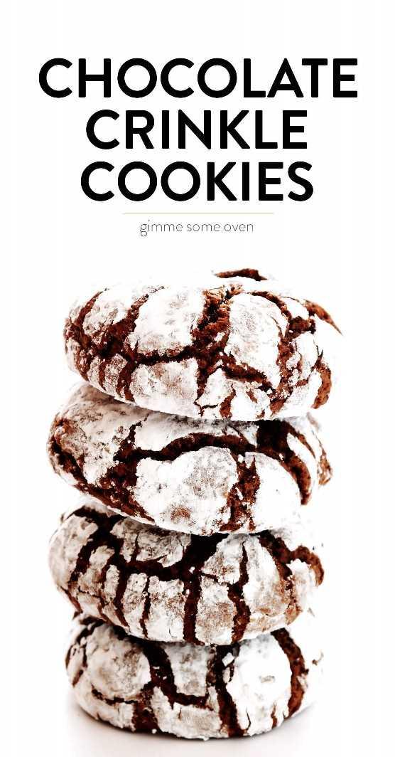 Biscoitos de chocolate amassado clássicos