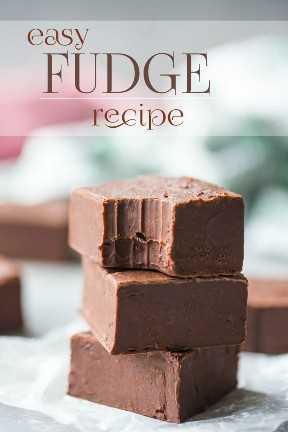 Mejor Receta de Chocolate Fudge
