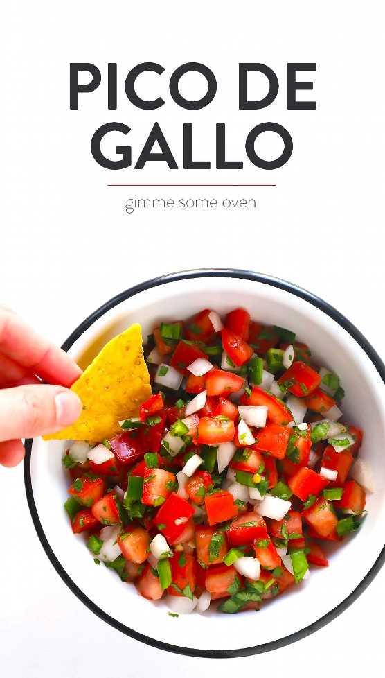 Como Hacer Pico De Gallo