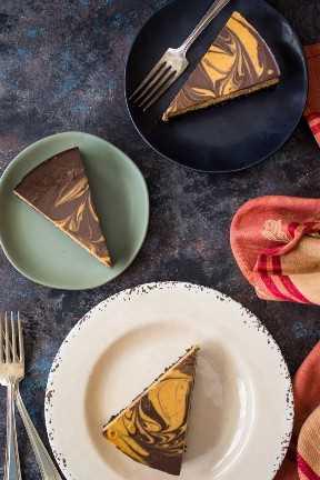Pastel de chocolate con calabaza