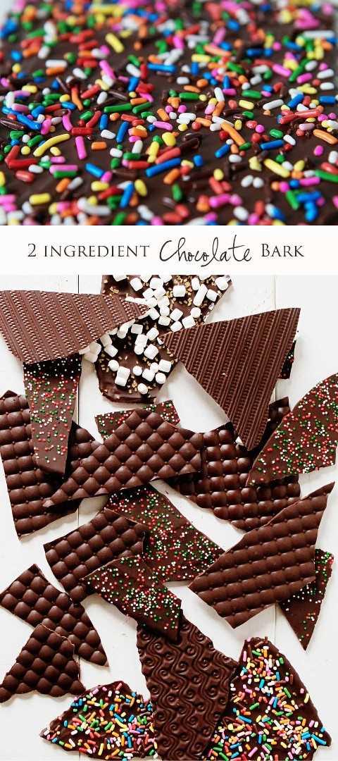 ¡Hacer la corteza de chocolate decorativa es MUCHO más fácil de lo que piensas!