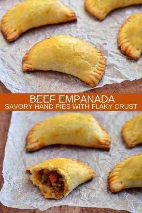 Empanadas De Carne En Papel De Pergamino
