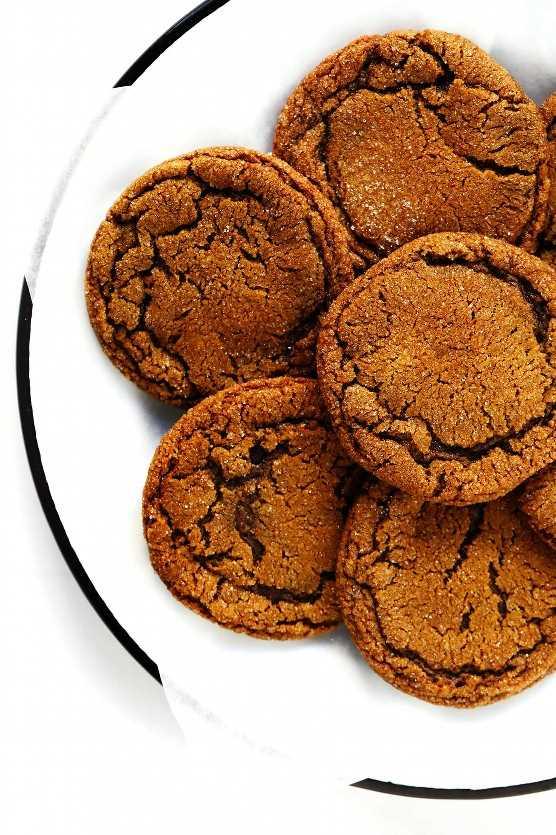 Receta de galletas de melaza de jengibre