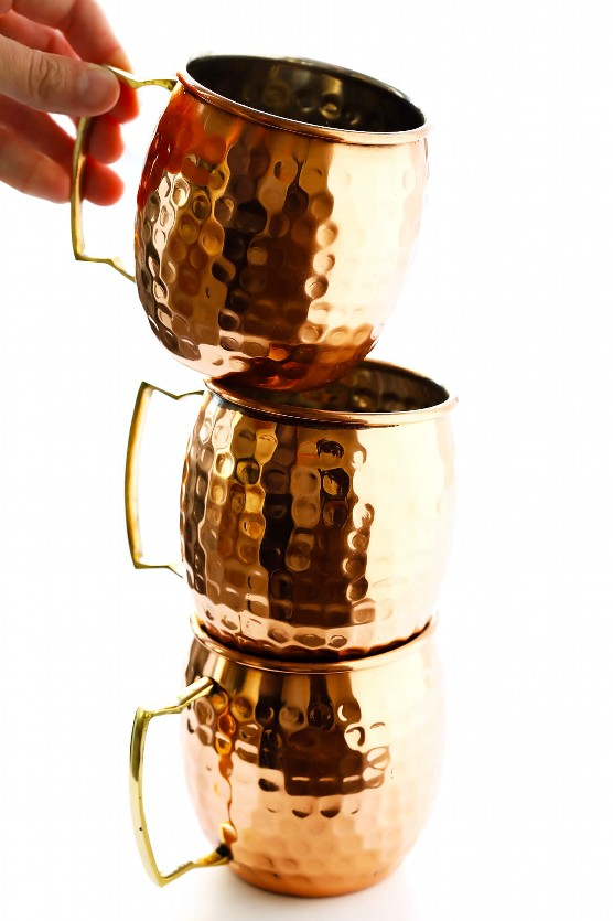 Moscow Mule Copper Tazas