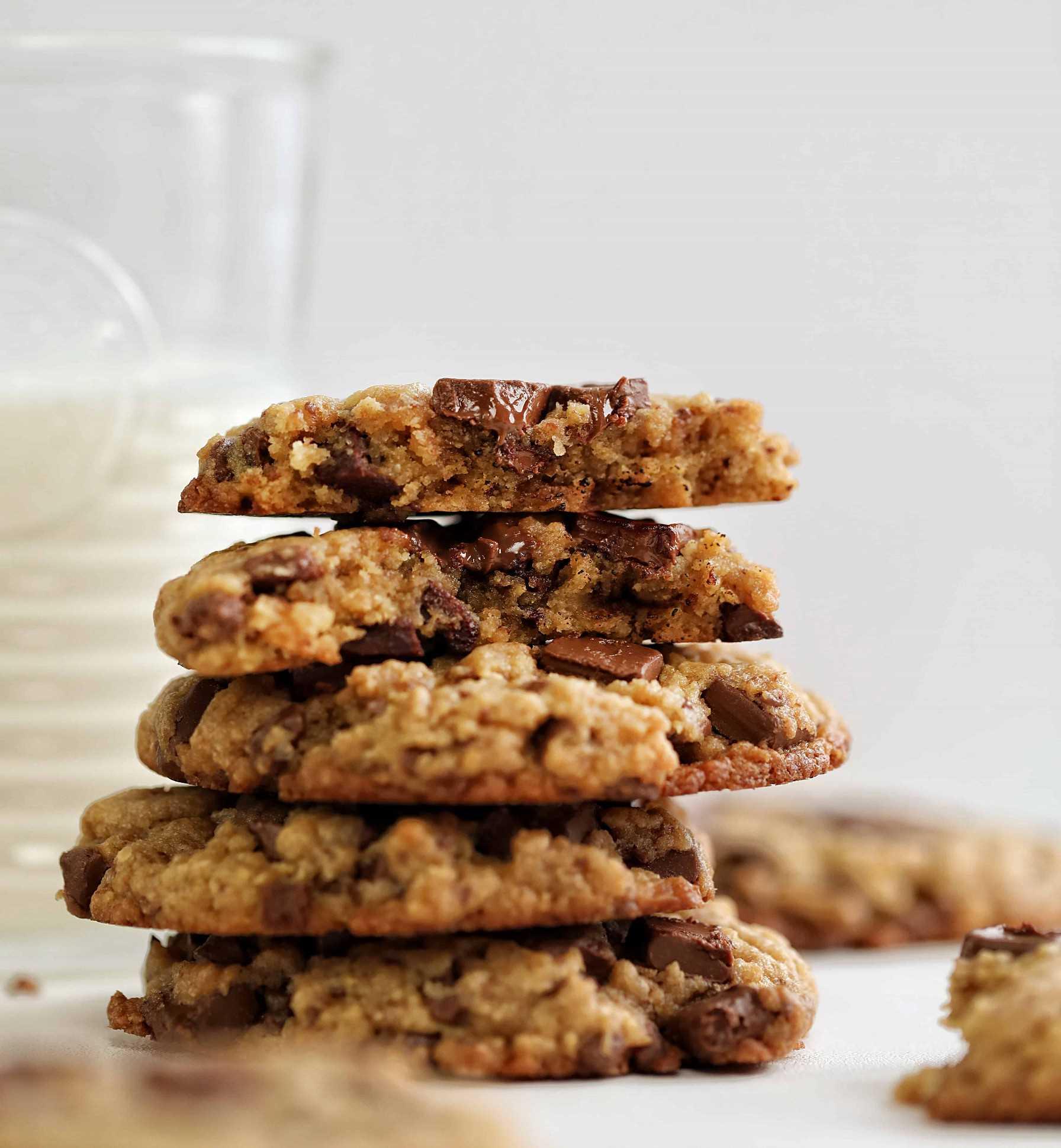 Receta de galletas de chispas de chocolate