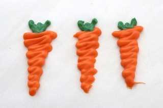 Dulces Zanahorias Para Pastel De Zanahoria Magdalenas