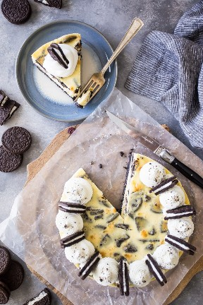 Galletas cremosas de Oreo y receta de crema de queso