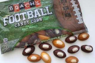 Pastillas de caramelo de fútbol para el día de juego Palomitas de maíz