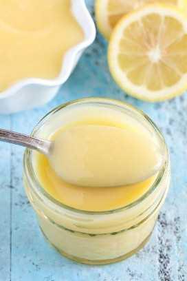 ¡Una receta fácil para la cuajada de limón hecha en el microondas!