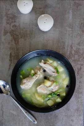 souse de pollo