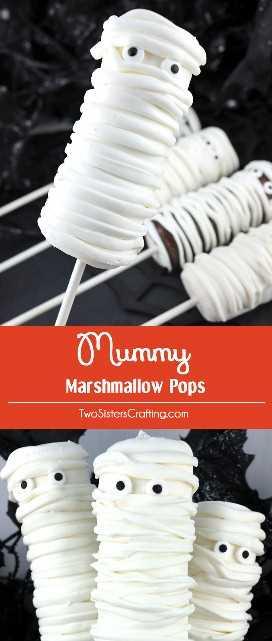 """Momia Marshmallow Pops - un postre de Halloween espeluznante y delicioso para su familia. Es tan fácil de hacer y no vas a creer lo deliciosas que son estas paletas de malvavisco cubiertas con chocolate. Serían un gran regalo de Halloween para la fiesta de Halloween de este año. Coloca este delicioso dulce de Halloween para más tarde y síguenos para obtener más ideas geniales de comida de Halloween. """"Width ="""" 680 """"height ="""" 1604 """"data-pin-description ="""" Mummy Marshmallow Pops: un postre espeluznante y delicioso de Halloween para tu familia. Es tan fácil de hacer y no vas a creer lo deliciosas que son estas paletas de malvavisco cubiertas con chocolate. Serían un gran regalo de Halloween para la fiesta de Halloween de este año. Guarde este delicioso caramelo de Halloween para más tarde y síganos para obtener más ideas geniales de comida de Halloween. """"Srcset ="""" https://juegoscocinarpasteleria.org/wp-content/uploads/2019/04/1554685651_308_Pops-de-malvavisco-de-momia.jpg 680w, https://www.twosisterscrafting.com/wp-content/uploads/2016/09/mummy-marshmallow-pops-NEW-600x1415.jpg 600w, https://www.twosisterscrafting.com/wp-content/uploads /2016/09/mummy-marshmallow-pops-NEW-434x1024.jpg 434w, https://www.twosisterscrafting.com/wp-content/uploads/2016/09/mummy-marshmallow-pops-NEW-127x300.jpg 127w """"tamaños ="""" (ancho máximo: 680px) 100vw, 680px """"/></p> </p> <p>** Esta publicación contiene enlaces de afiliados, pero solo recomendamos productos que realmente usamos y nos gustaron. Gracias por apoyar a Two Sisters!</p> </pre> <p></p> </div>"""