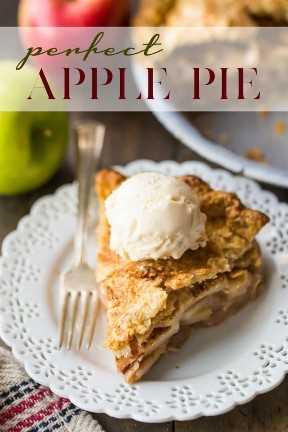 Receta de pastel de manzana casera