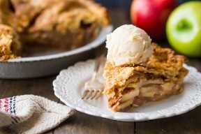Receta de tarta de manzana desde cero