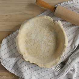 Cómo hacer corteza de pastel perfecto | Hornear un momento