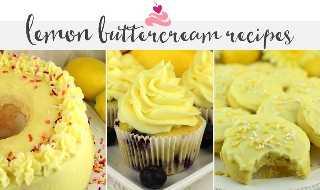 El mejor glaseado de crema de mantequilla de limón