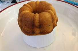 Mini Sherry Cakes fuera del horno