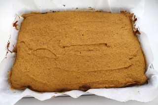 Pastel de especias de calabaza al horno