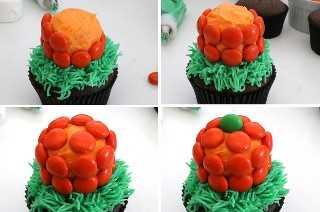 Cómo hacer cupcakes de calabaza
