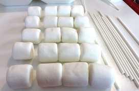 Fazendo os marshmallows