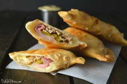 Cubanadas (Empanadas De Sandwich Cubano)   Delish D'Lites
