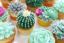 {Video} ¡Cómo hacer cupcakes suculentos!