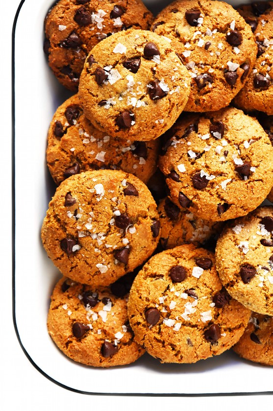 Receta de galleta con chispas de chocolate saludable